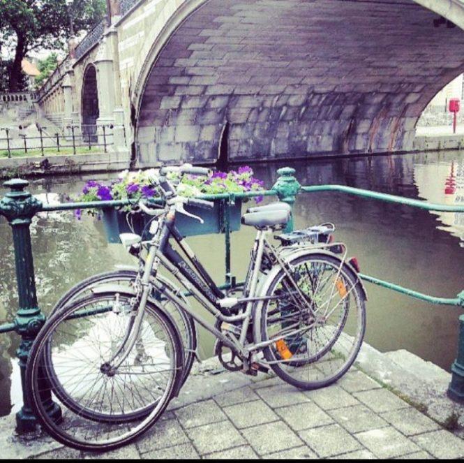 Bicis en Gante