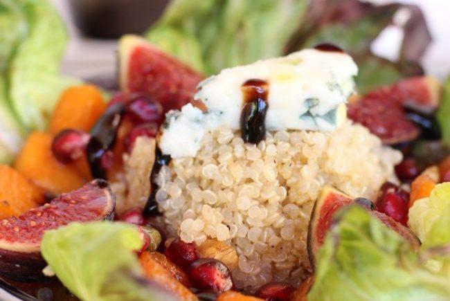 Ensalada de quinoa y calabaza en Loft & Table