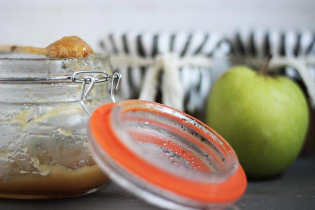 Receta de compota de manzana en tarro