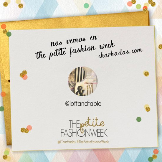 Petite Fashion week by Charhadas