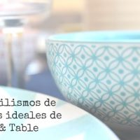 4 estilismos de mesa ideales de Loft & Table
