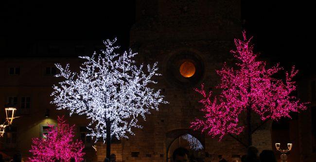 Luces navideñas en Puigcerdá