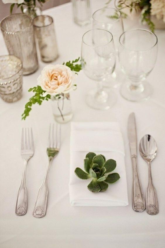 una mesa bonita y con ideas