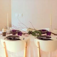 El estilismo de una mesa neo-rústica