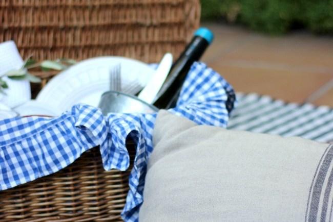 Cómo hacer un glam-picnic casero