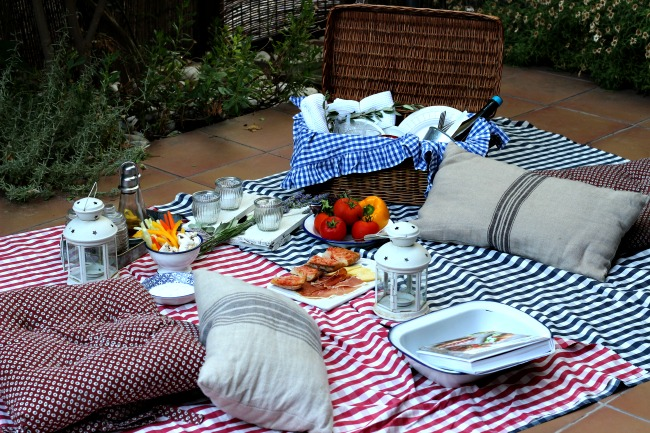ideas para hacer tu picnic en casa