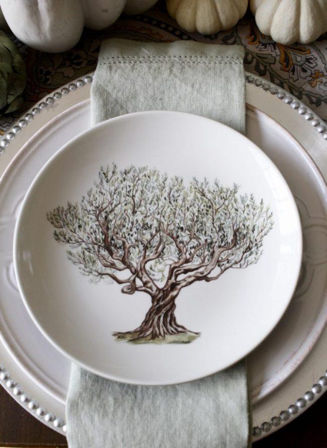 Una mesa elegante otoñal de MAISON De CINQ