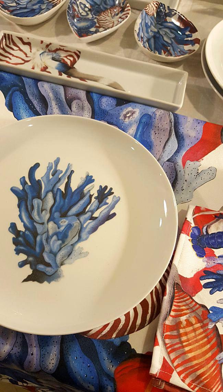 Nueva colección de vajillas y textil hogar en Okenua
