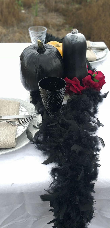 como-decorar-la-mesa-con-calabazas
