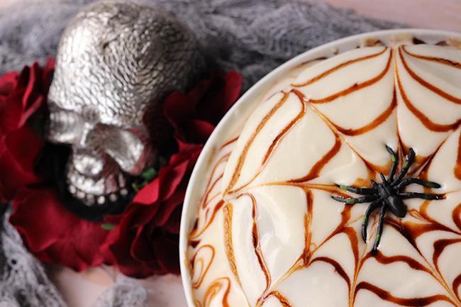 Pastel de caramelo para Halloween