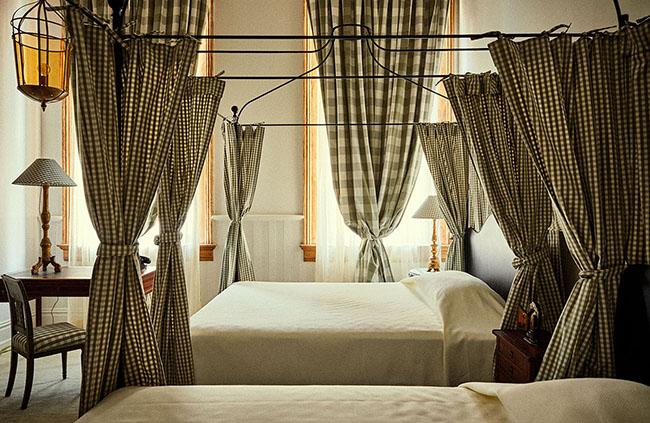 Un hotel con estilo y mucho cuadro vichy