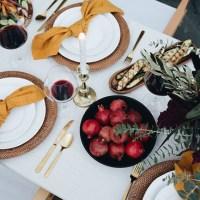Ideas para una mesa con toques mostaza