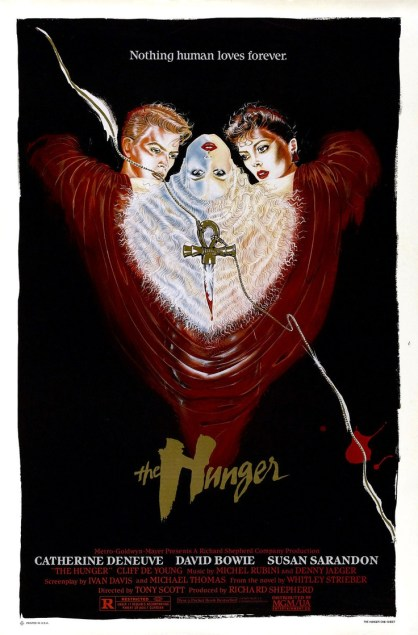 Image result for the hunger 1983 poster