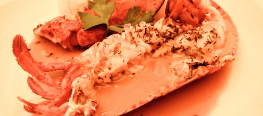 Du homard à L'Huîtrière
