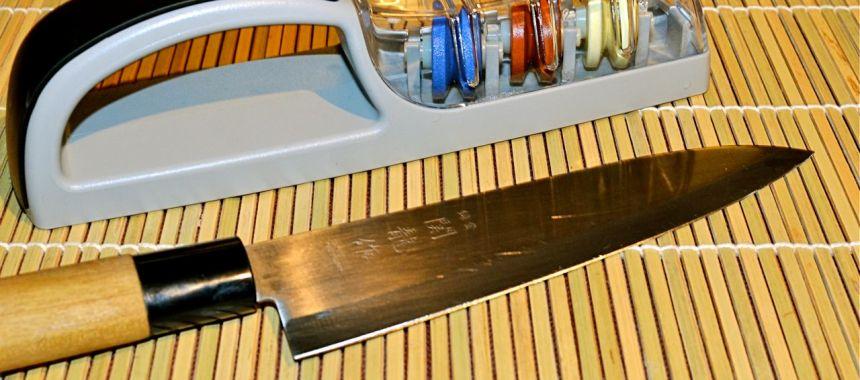 Minosharp ou comment aiguiser ses couteaux pour les nuls
