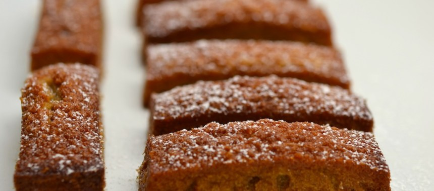Financiers à la confiture de poires…
