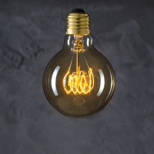 Globe 80 Vintage Loop retro light-bulb