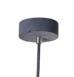 Lampa betonowa Kalla Quadro - kolor antracyt