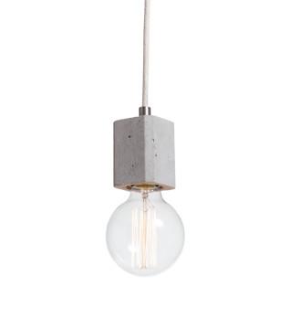 Lampa betonowa Kalla Quadro - kolor naturalny