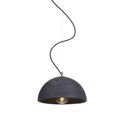Lampa sfera - kolor antracyt