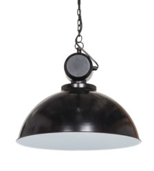 Lampa industrialna Netto w kolorze - Shiny black