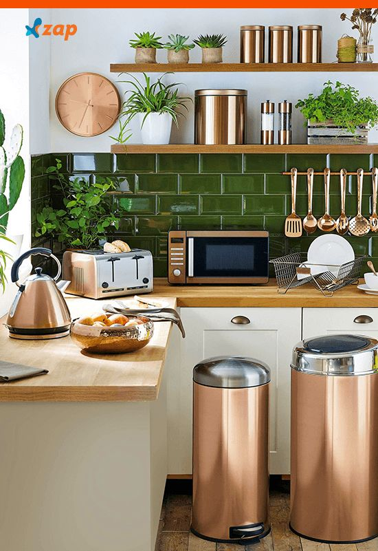 151 cool rose gold home decor accessories  Loftspiration