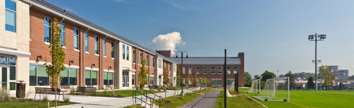 WVU Student Health & Wellness / CPASS Building featured in Design Cost Data