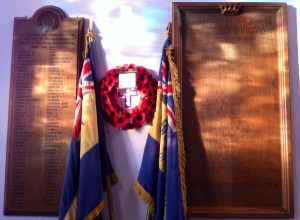 War Memorial Boards
