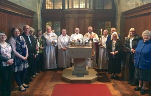 A special East Cleveland Walsingham Cell Mass was held at Saint Aidan's Church Boosbeck on Tuesday 10th May 2016