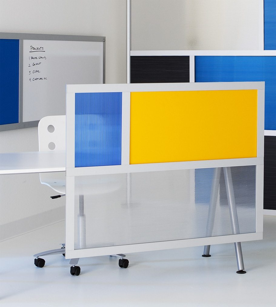 LOFTwall DESKdivider For Privacy and Function
