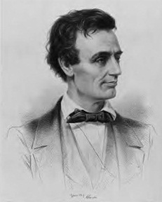 A younger Lincoln