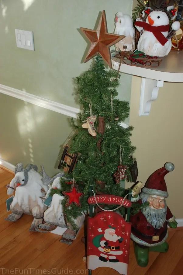 12 Christmas Trees Ornaments