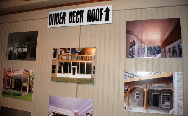 Underdecking For Your Upstairs Patios Decks Porches