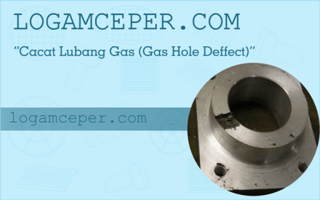 gas hole defect