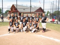 3rd place at our 18u travel softball tournament in August 2012