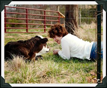 Sharon & calf