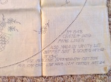table topper instructions