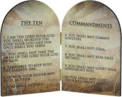 Ten Commadments