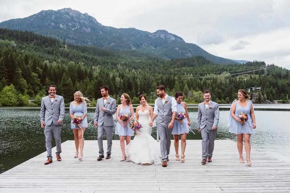 Nita Lake Lodge Wedding Whistler