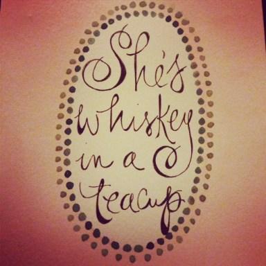 whiskey teacup