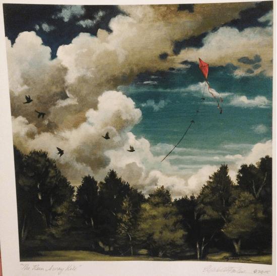 kite painting