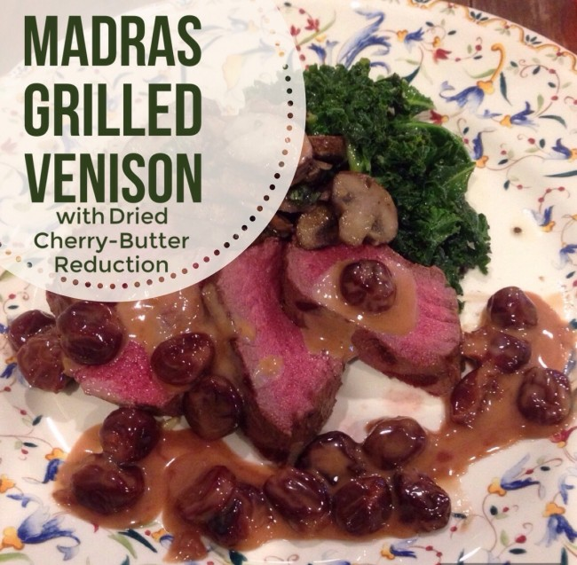 Madras Grilled Venison