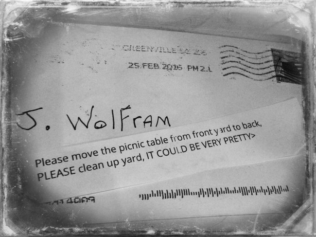 rude letter