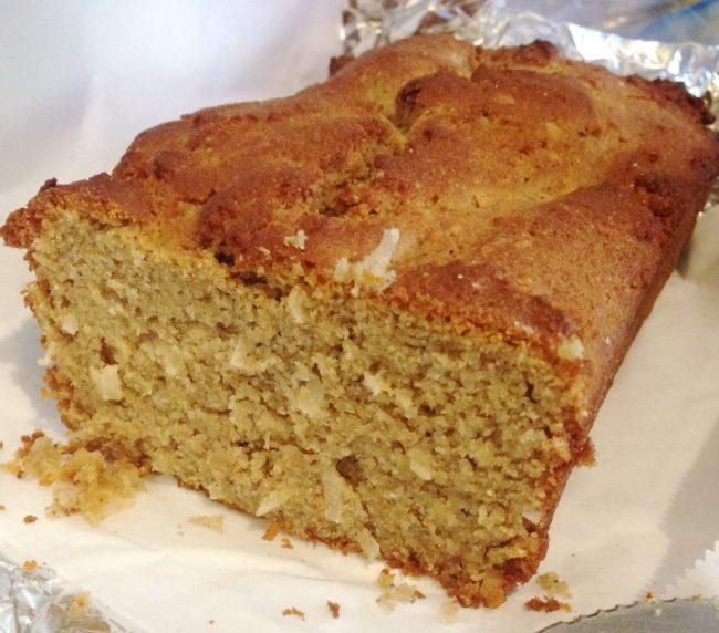 coconut cornbread shortcake