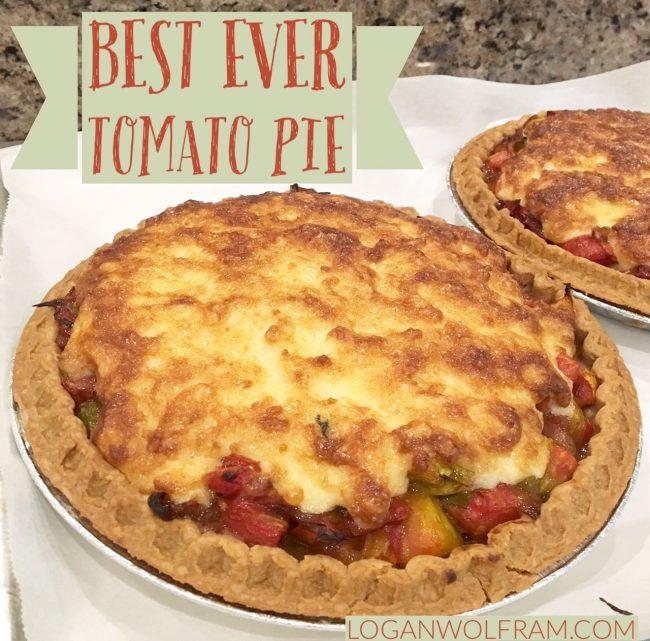 Best Ever Tomato Pie