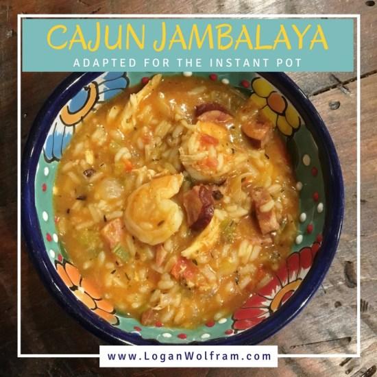Instant Pot Cajun Jambalaya