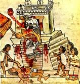 Representation of human sacrifices