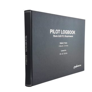 Professional Pilot Logbook by Logbookair