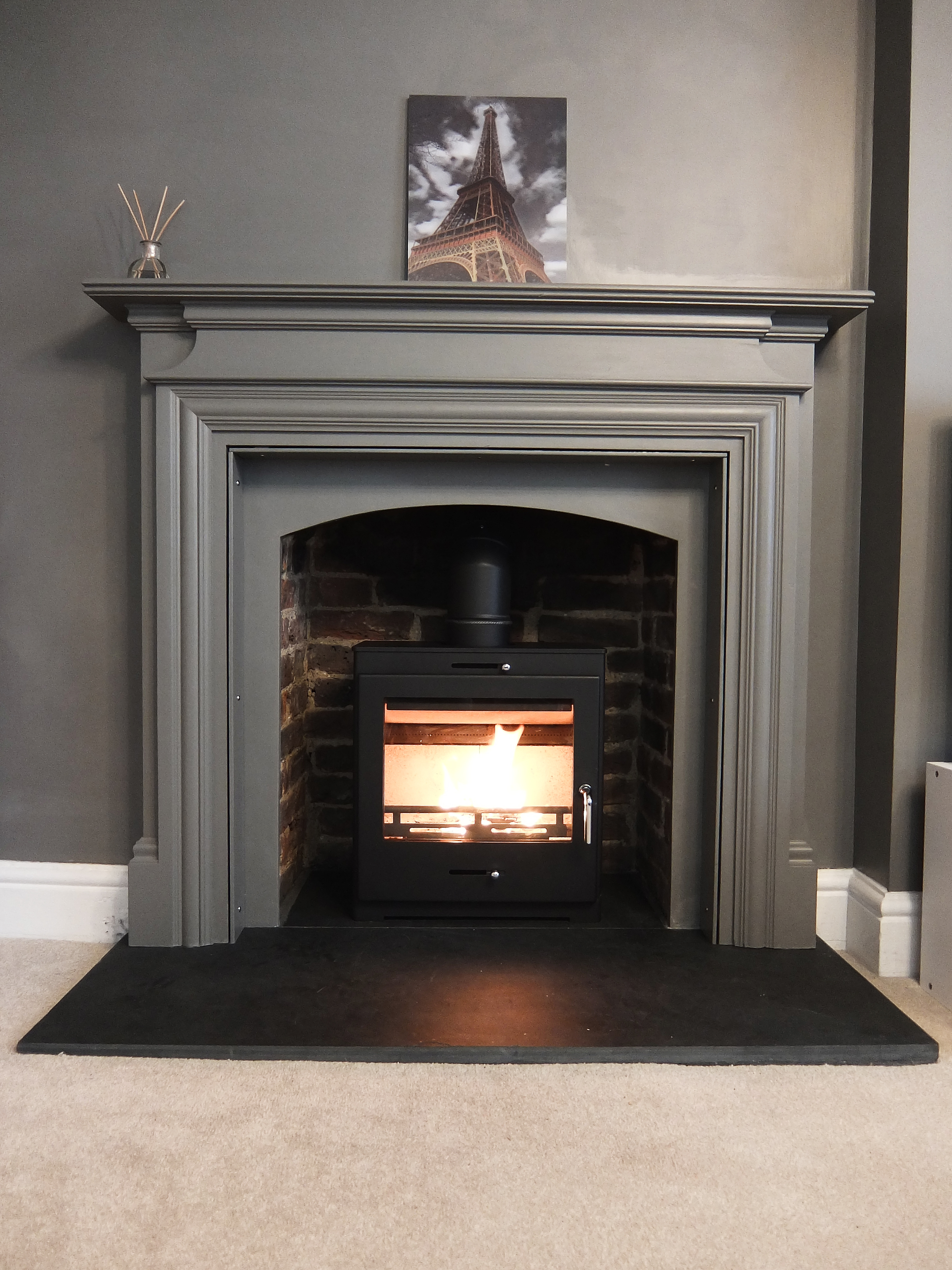 HETAS Wood Burner Installation Guildford Surrey  Fire Bug Wood Burning Installation