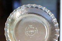pyrex 6-inch pie plate - Log Cabin Cooking